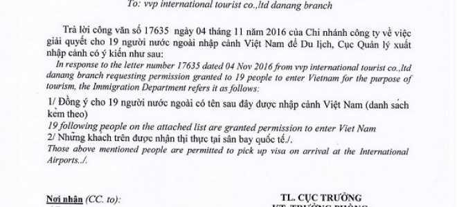 Виза во Вьетнам – виды, сроки и особенности получения