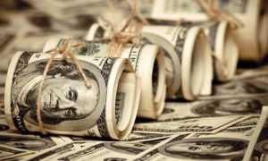 Средние зарплаты в США и РФ