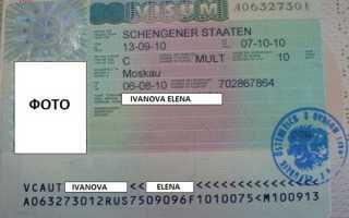 Подача документов для визы в Австрию