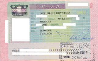 Виза в Хорватию – виды, сроки и особенности получения