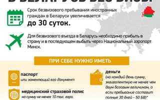 Нужен ли в Белоруссию загранпаспорт для россиян
