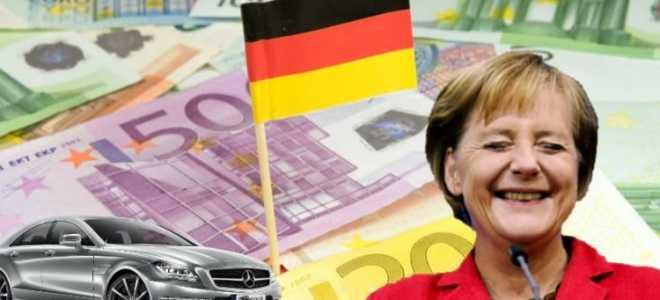 Средний размер оплаты труда в Германии