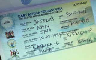 Виза в Кению – виды, сроки и особенности получения