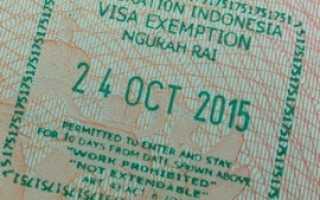 Виза по прибытию в Индонезию – виды, сроки и особенности получения