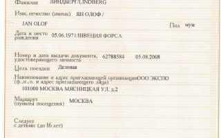 Приглашение иностранного гражданина в Россию физическими лицами: пошаговая инструкция
